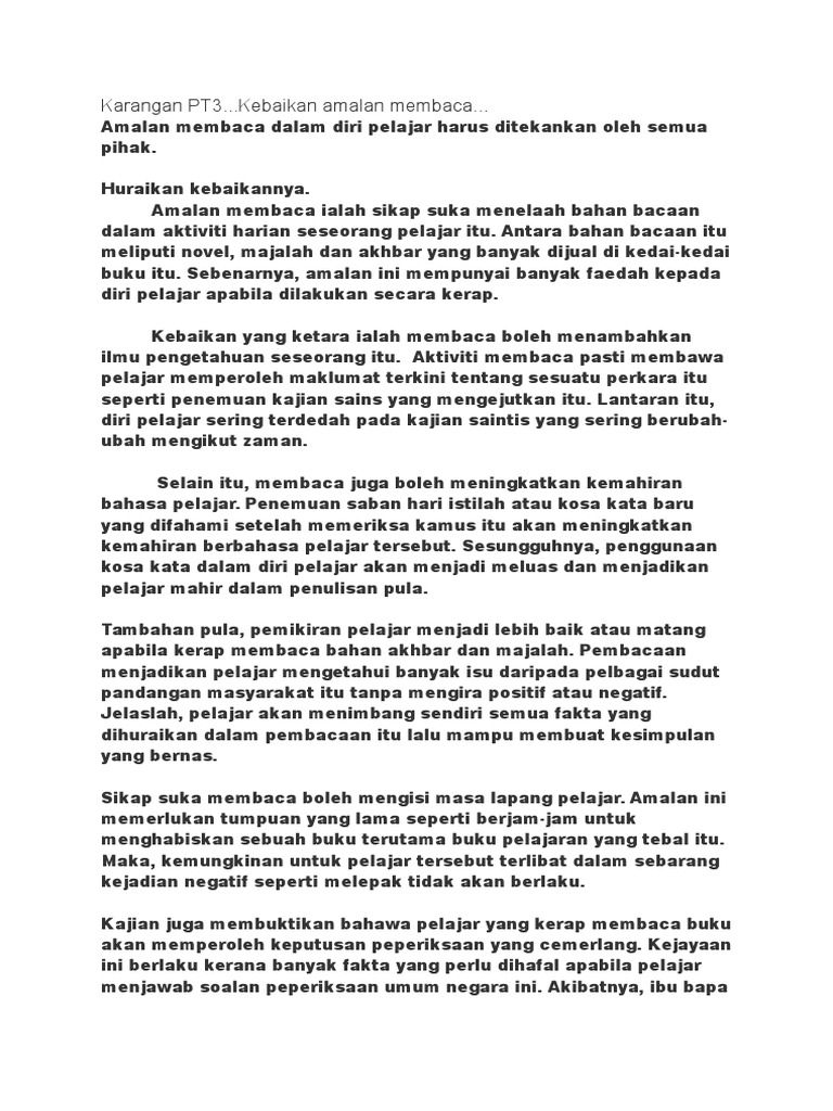 Image Result For Contoh Karangan Cemerlang Pt3 Bahasa