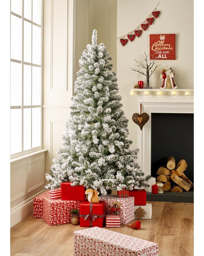 6ft Snowy Tree Christmas Trees ASDA direct Christmas