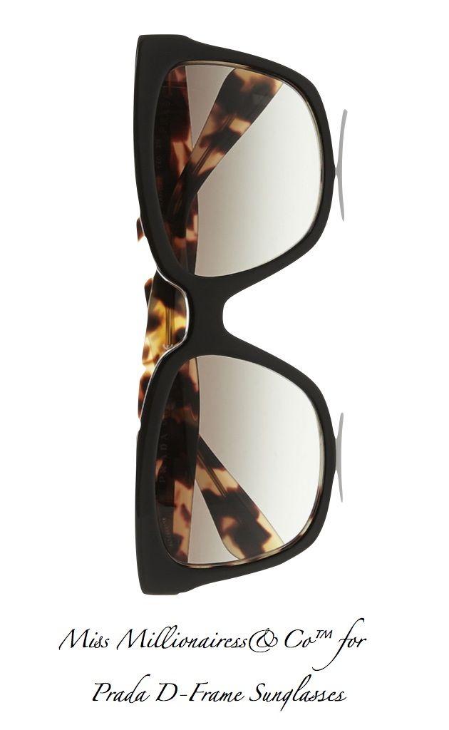 cb17e97953 Prada 2015 D-Frame Sunglasses Anteojos, Originales, Gafas, Sol, Concha De