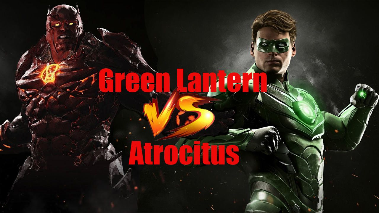 Story 20 Injustice 2 Green Lantern Vs Atrocitus Rage Of The Red Green Lantern Injustice Injustice 2