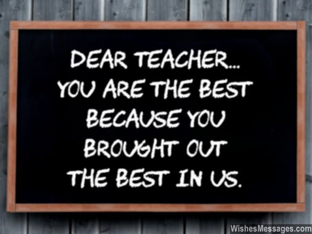 Thank You Notes for Teacher Messages and Quotes u2013 WishesMessages - thank you notes for teachers