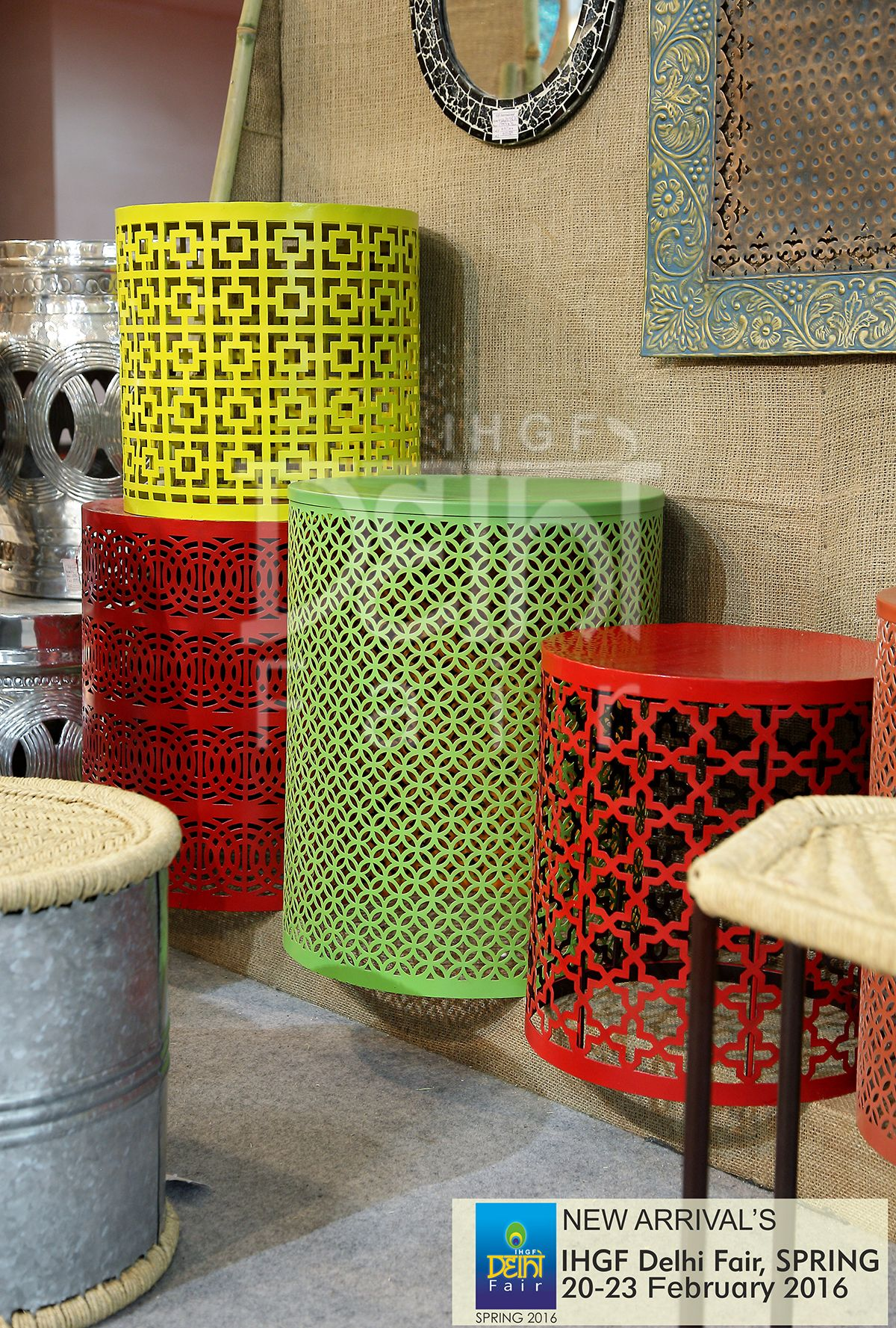 Home Accents...sheen, Shine And Solid Tones At The IHGF Delhi Fair