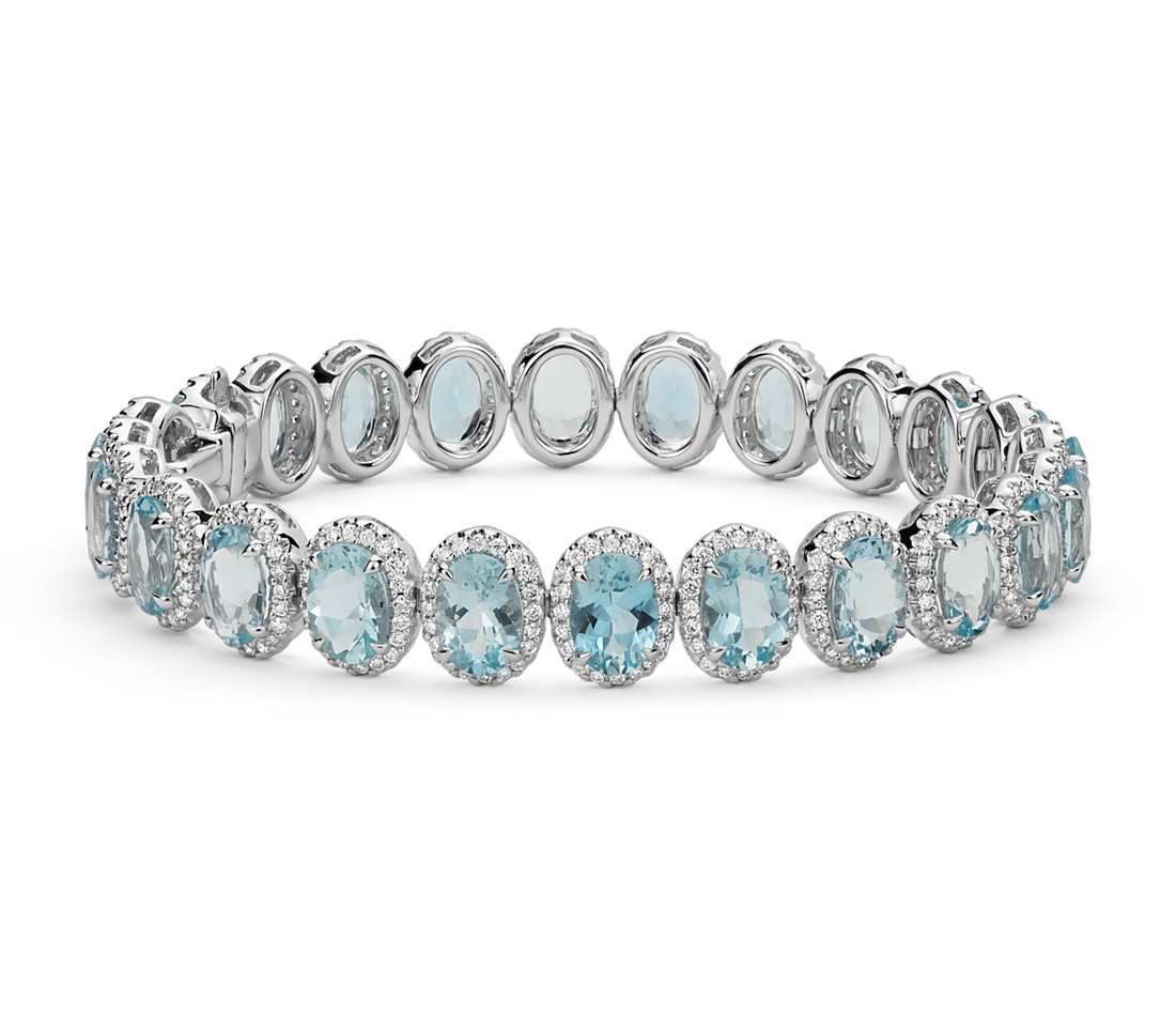 jewelry inspiration flont alternating halo club bracelet by from rental