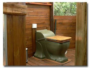 Dry Toilet System Using Eco Friendly Technology