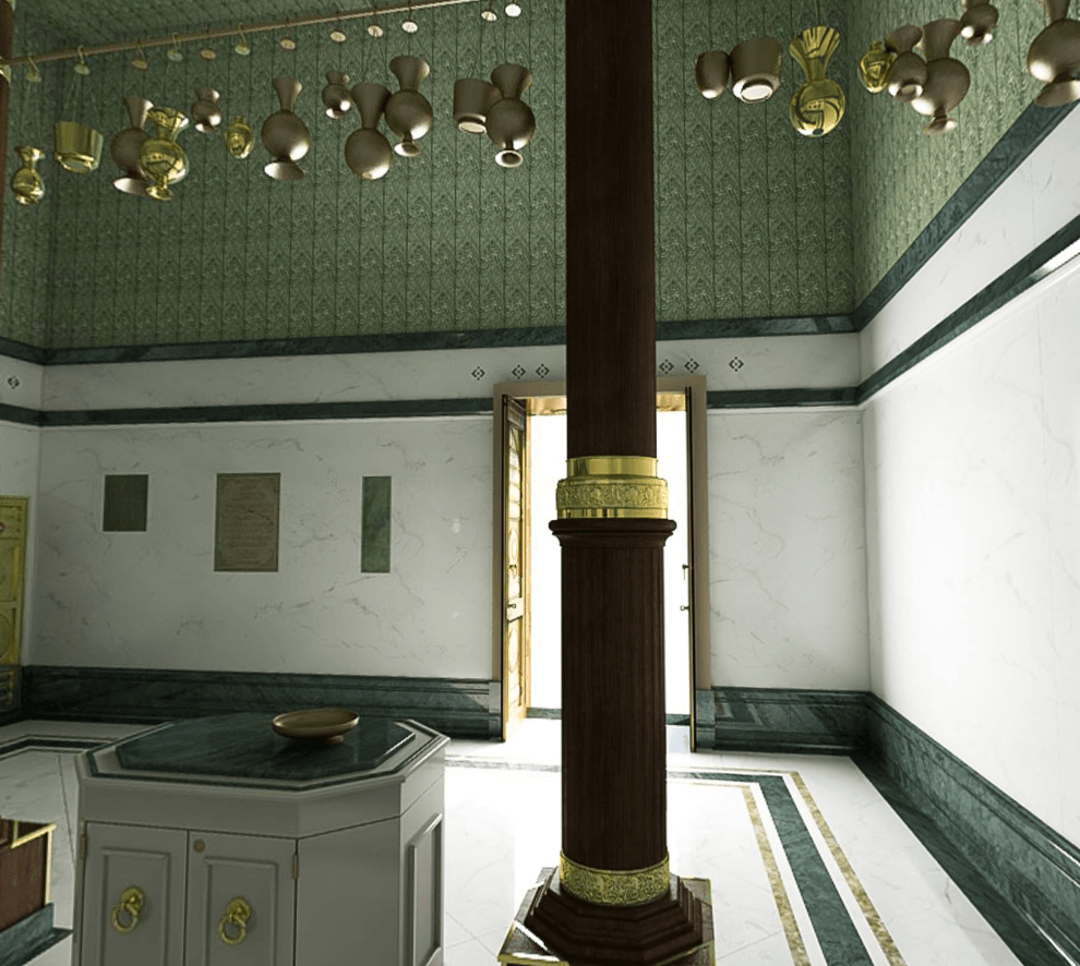 مذهل شاهد الكعبة المشر فة من الداخل بتقنية 360 درجة Mekkah Masjid Door Handles