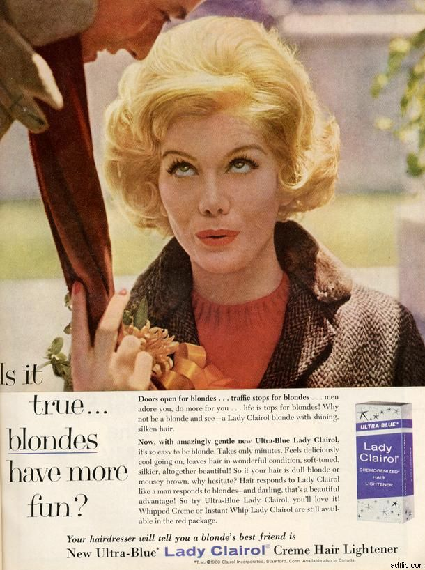 Lady Clairol January 1961 Vintage Ads Pinterest