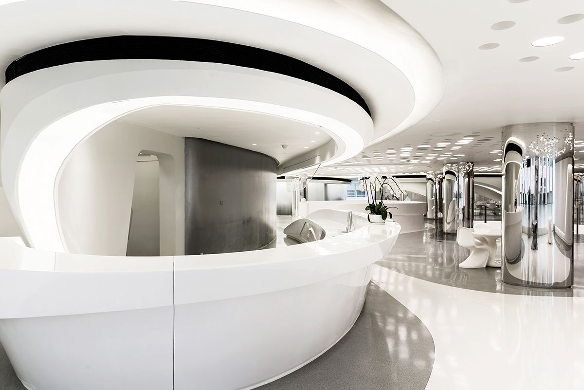 Architecture interior zaha hadid shape pinterest for Interior design zaha hadid