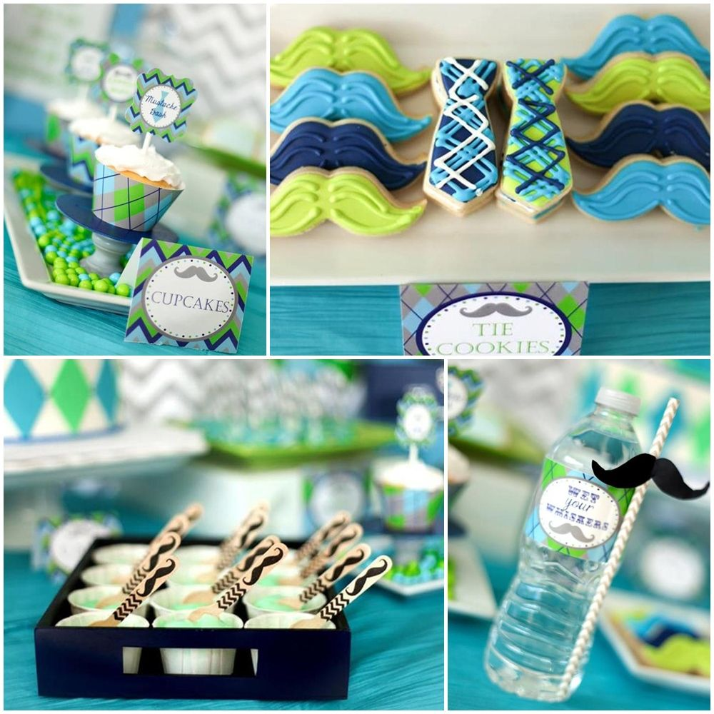 Bow Tie Themed Party Food Bow Tie Birthday Party ...