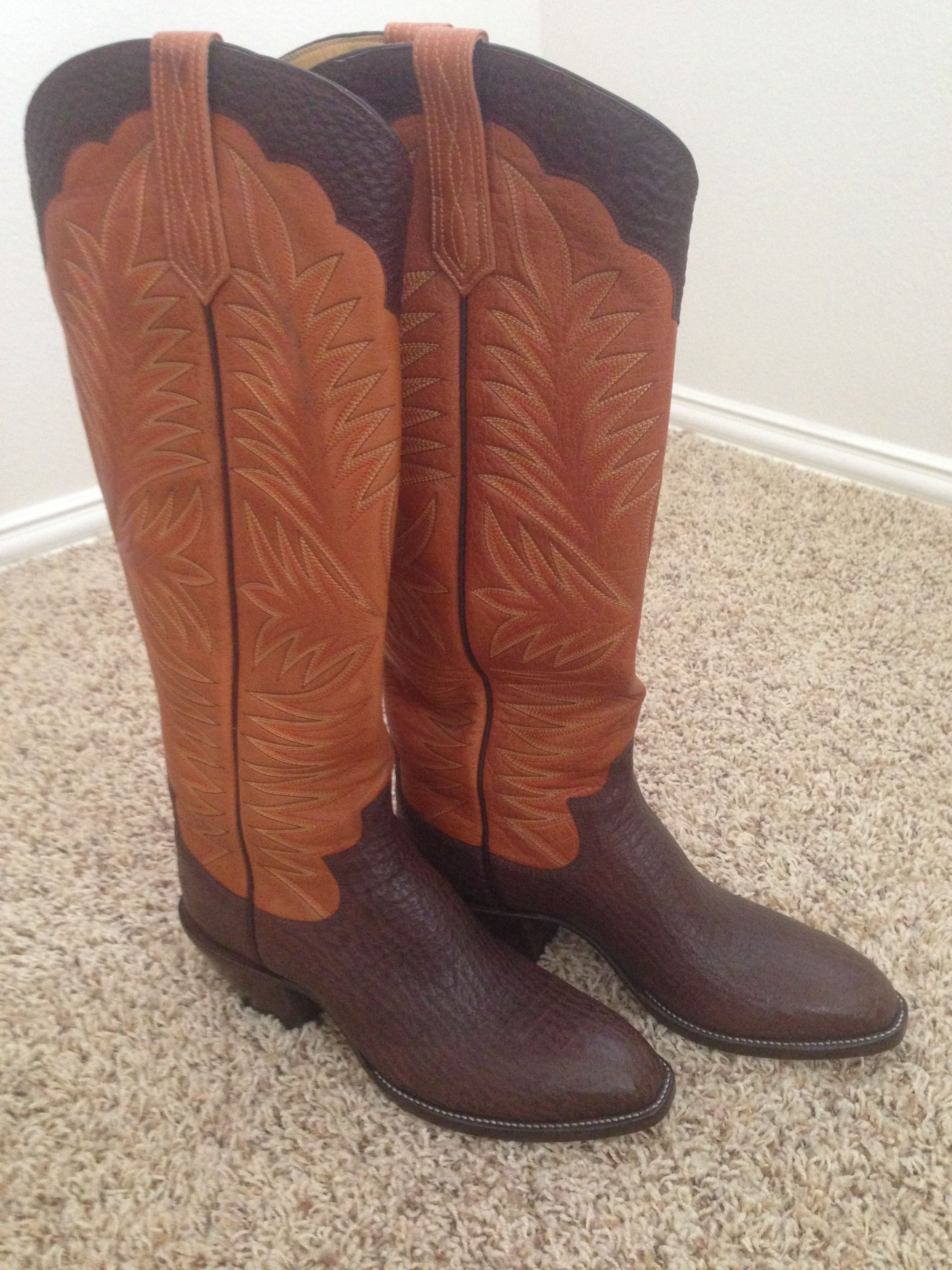ec8cd97f500 Paul Bond - Chocolate Shark | boots | Western boots, Cool boots, Boots