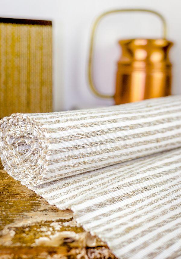 Superb Hemp Table Runner 7Ft Handwoven Organic Tablecloth Woven By VladimirFolkage