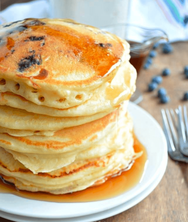 The Best Home Made Pancakes Homemade Pancake Mix Fluffy Pancakes Pancakes Mix