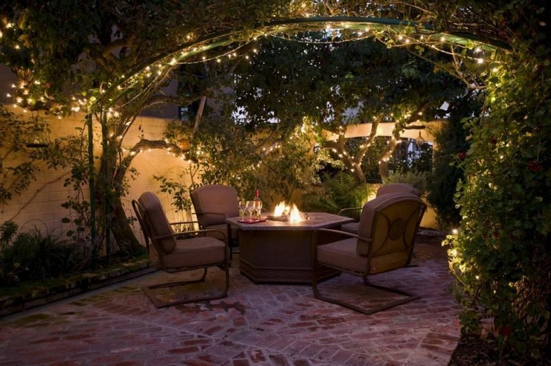 Led Garden Lighting 50 Ideas For Magical Lighting Effects New Decoration Ideas Outdoor Patio Lights Outdoor Backyard Patio