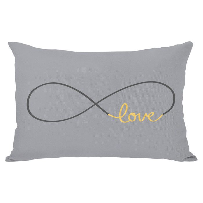 """I want one, but instead of """"love"""" is printed """"food"""". yeah, I want THAT pillow"""