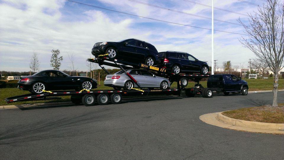 Kaufman EZ 4 car hauler trailer. See our whole line of car ...