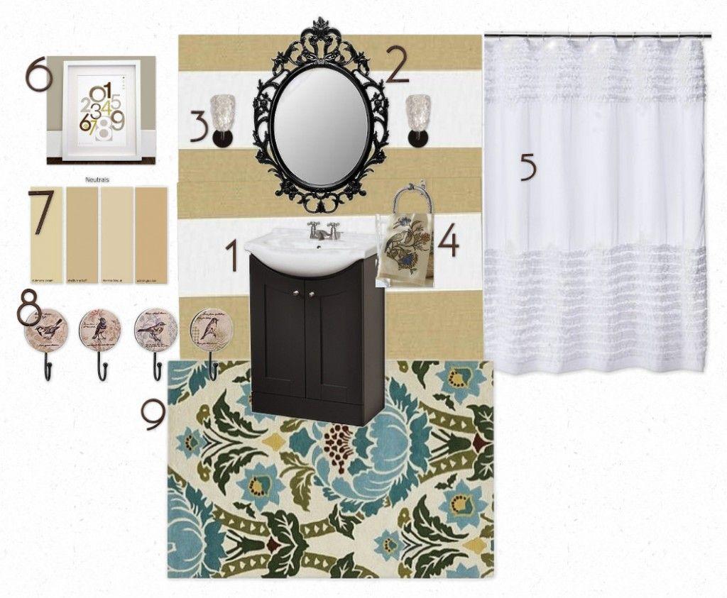 How to Do a Bathroom {on a Budget}