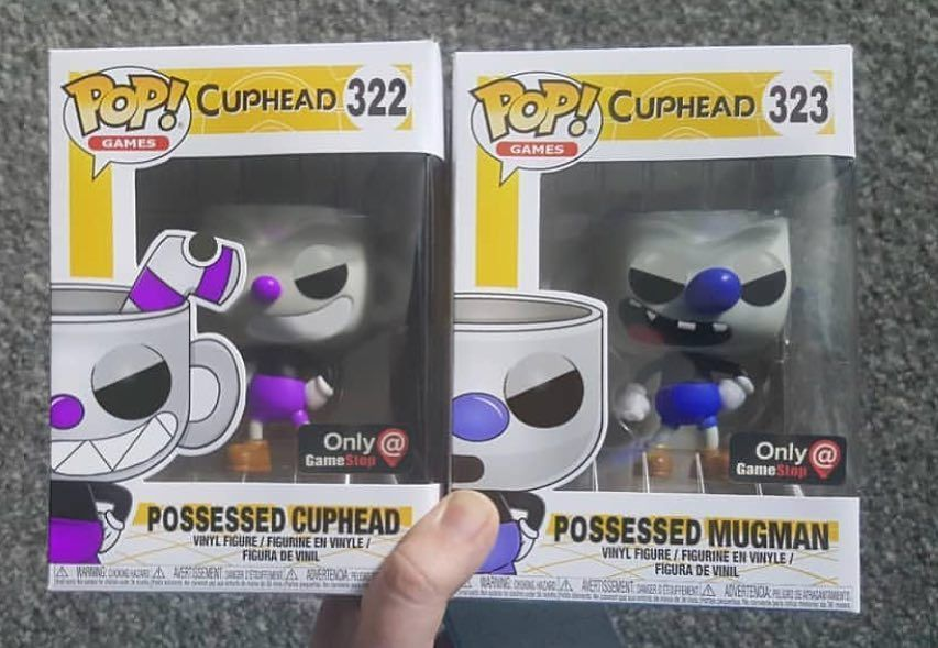 Gamestop Is Getting 2 Cuphead Exclusive Pops Credit