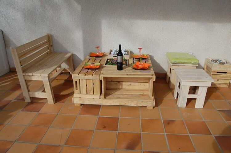 Wooden-Pallet-Furniture.jpg (750×498) (With images ...