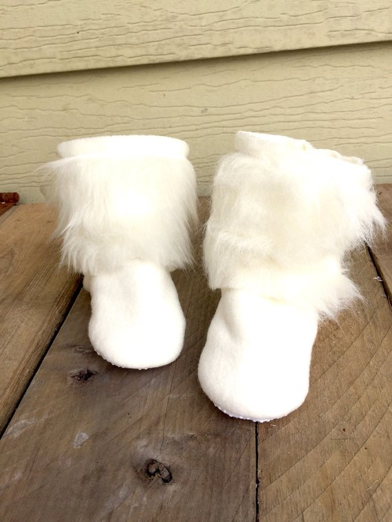 White Fur Boot - Winter Boots