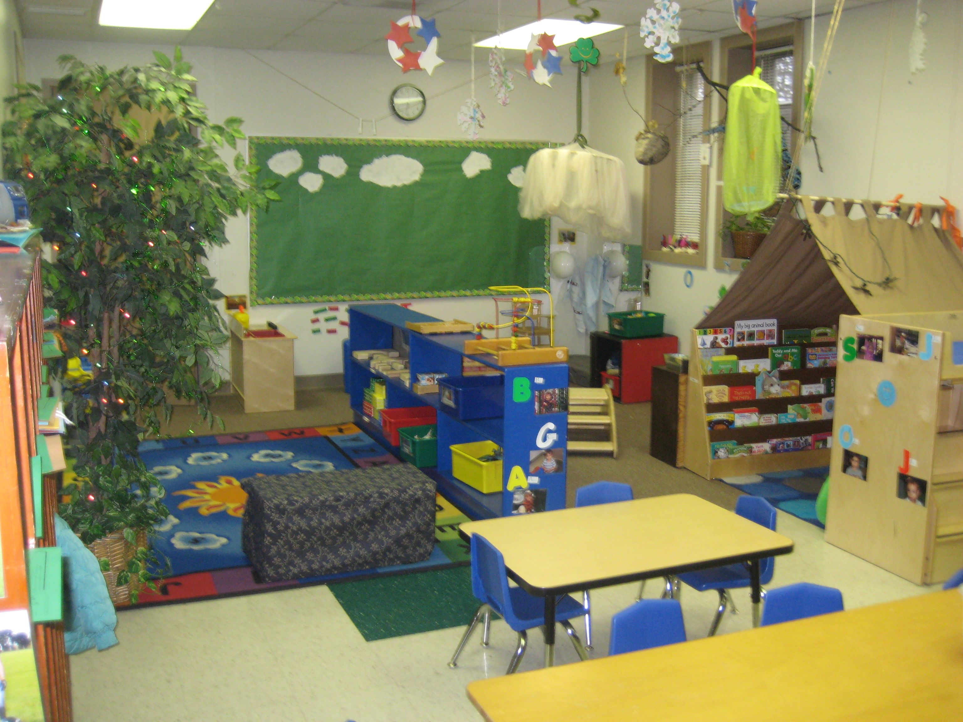 2 Year Old Classroom With A Variety Of Age Appropriate