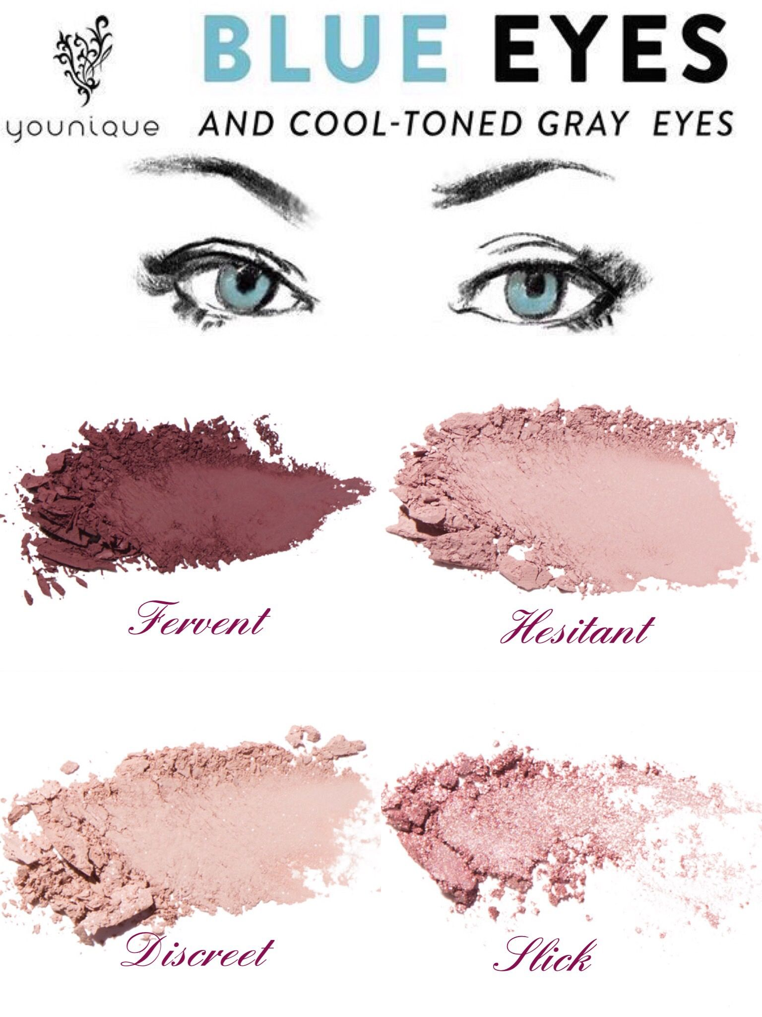 Create The Perfect Palette For Your Blue Eyes With