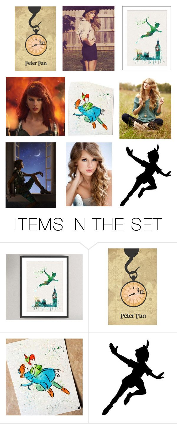 """""""Persephone Pan daughter of Peter Pan"""" by damack ❤ liked on Polyvore featuring art"""