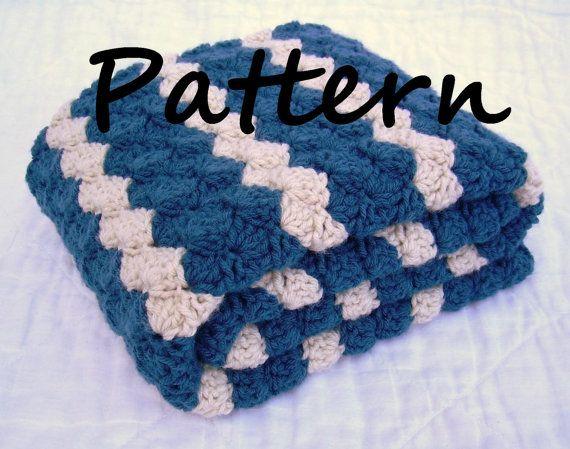 Crochet Baby Blanket Pattern Instant Download Pdf Pattern Shades