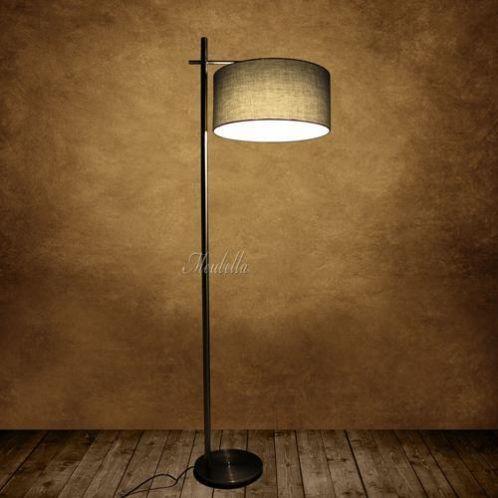 vloerlamp lampen vloer staande lamp vloerlampen stalamp stof meubeltjes pinterest. Black Bedroom Furniture Sets. Home Design Ideas