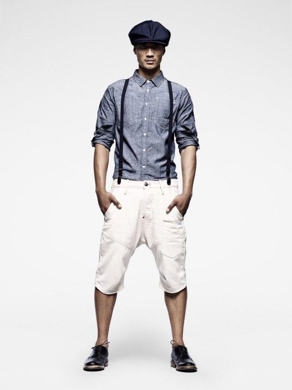Roaring 20s Inspired Men 39 S Summer Fashion Suspenders Shorts Driver 39 S Cap Halloween