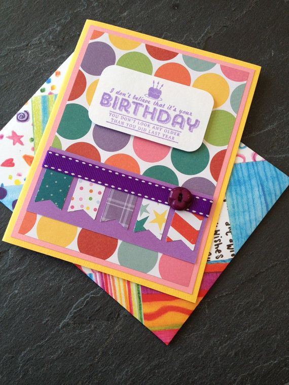 Handmade birthday greeting card unisex great for kids boy or handmade birthday greeting card unisex great for kids boy or girl or bookmarktalkfo Image collections