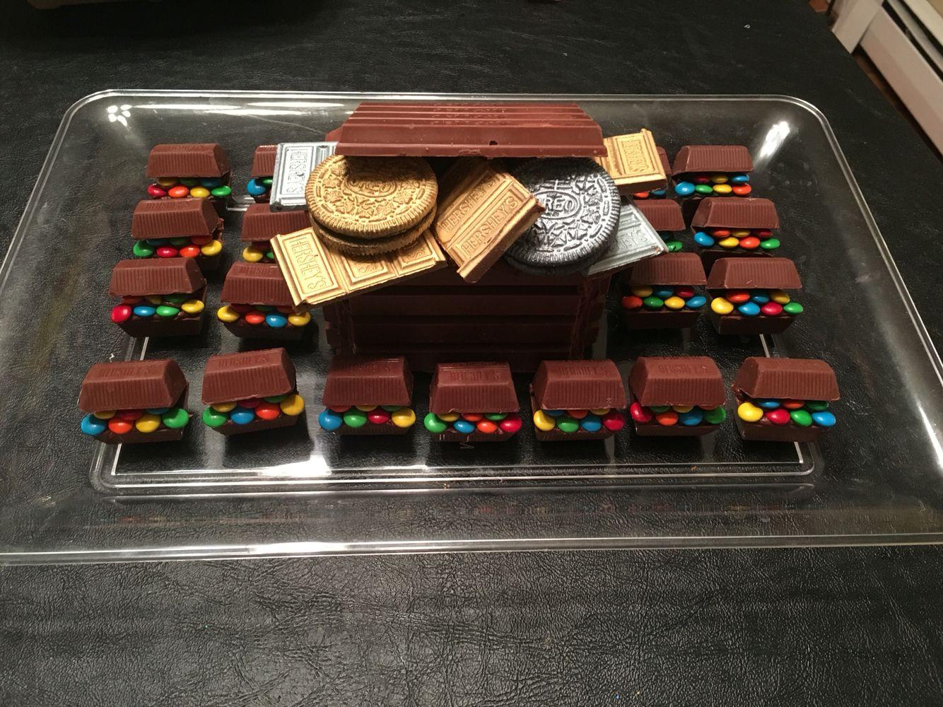 Kit Kat Treasure Chest & Hershey's Nuggets Treasure Chests with ...