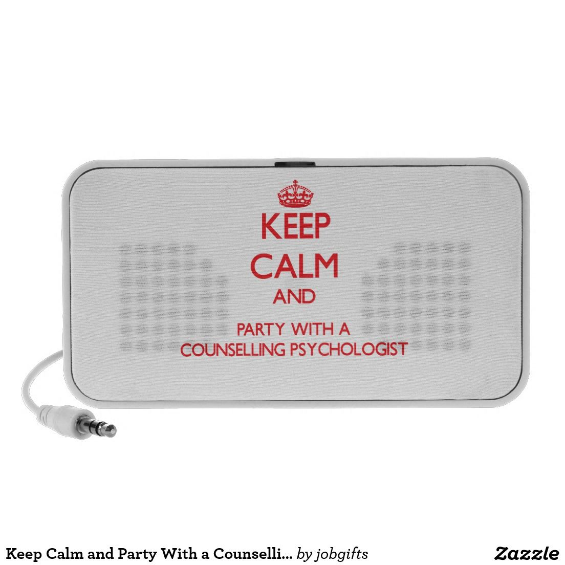 Keep Calm and Party With a Counselling Psychologis Speaker