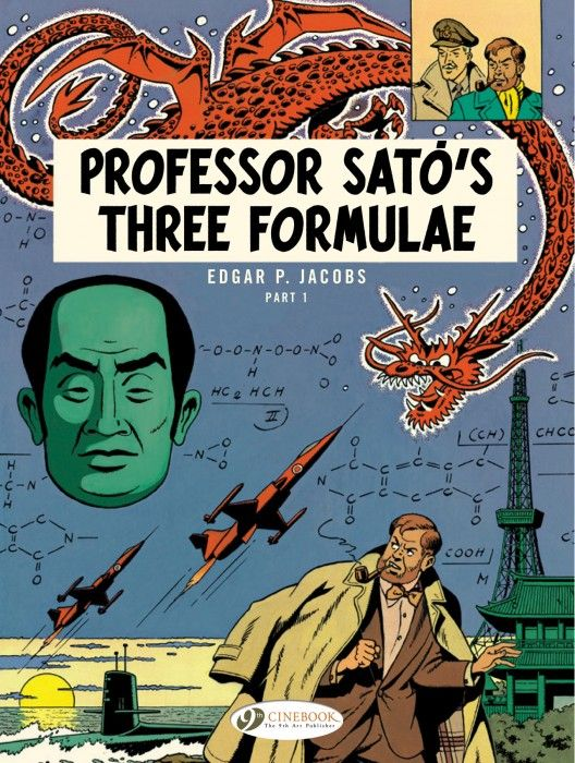 Comic Bits Online Cinebook The 9th Art Blake Mortimer 22 Professor Sato S Three Formulae Part 1 Comics Best Comic Books Comic Drawing