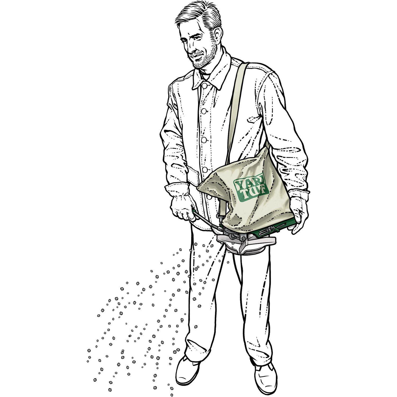 The Seed Amp Salt Shoulder Spreader Distributes Ice Melt