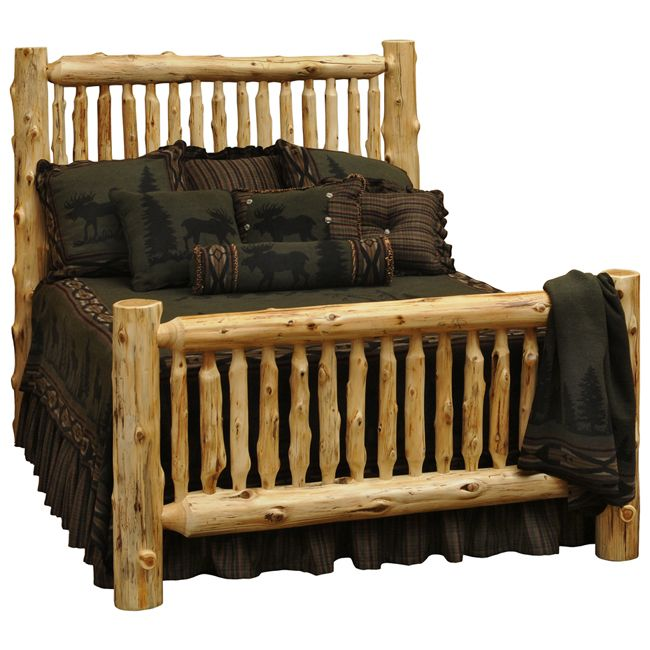 Spindle Log Bed