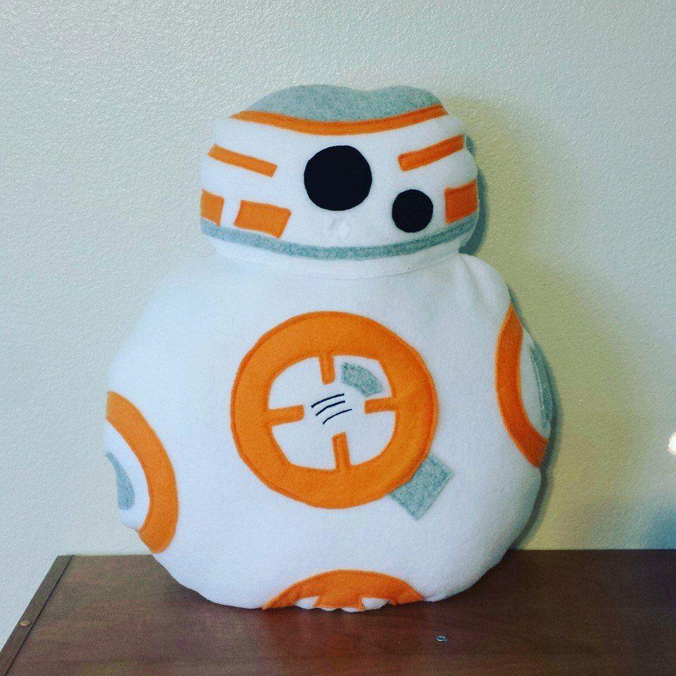BB-8 pillow, plush, droid by telahmarie on Etsy https://www.etsy.com/listing/270036038/bb-8-pillow-plush-droid