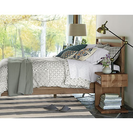 sereno hand-blocked bed linens in make the bedroom beautiful