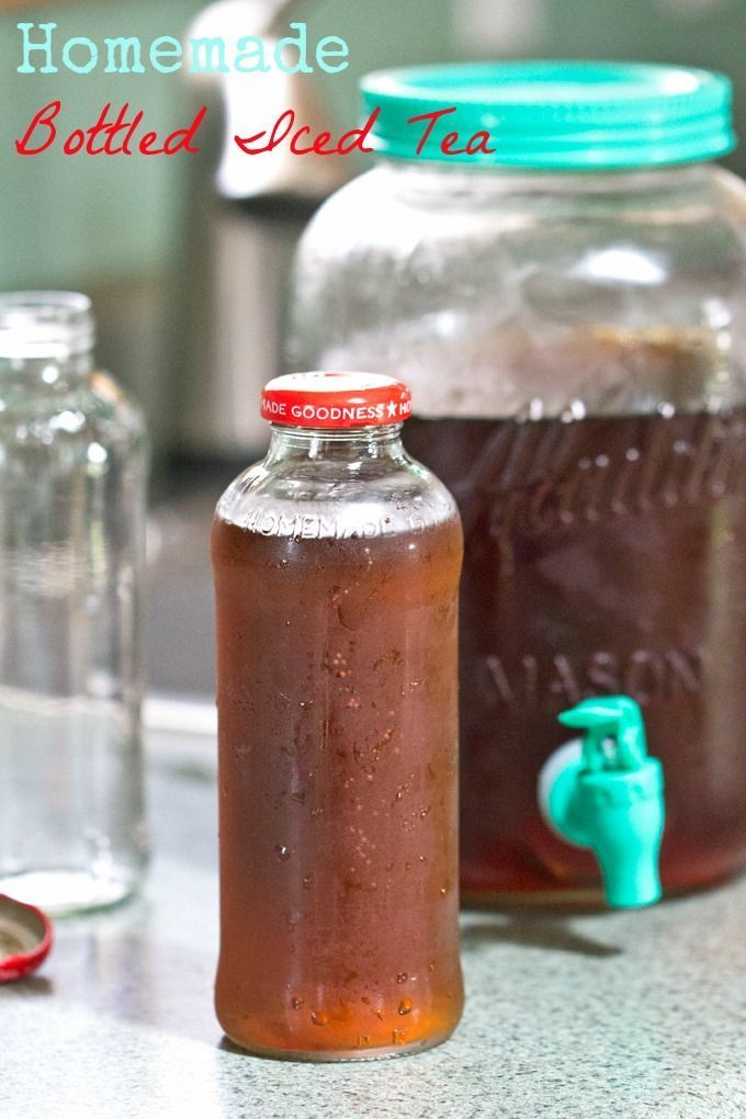 Make your own bottled iced tea at home | Drink Recipes