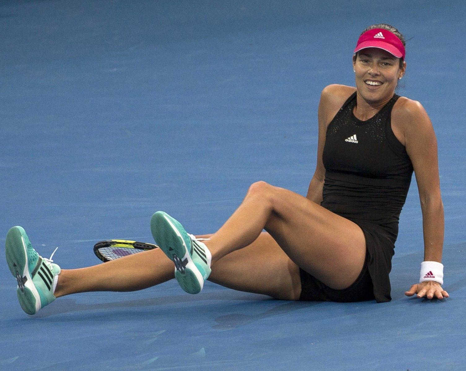 Ana Ivanovic Srb Tennis Brisbane International 2015 Brisbane Atp 250 Wta Queensland Tennis Centre Au Brisbane International Brisbane Ana Ivanovic