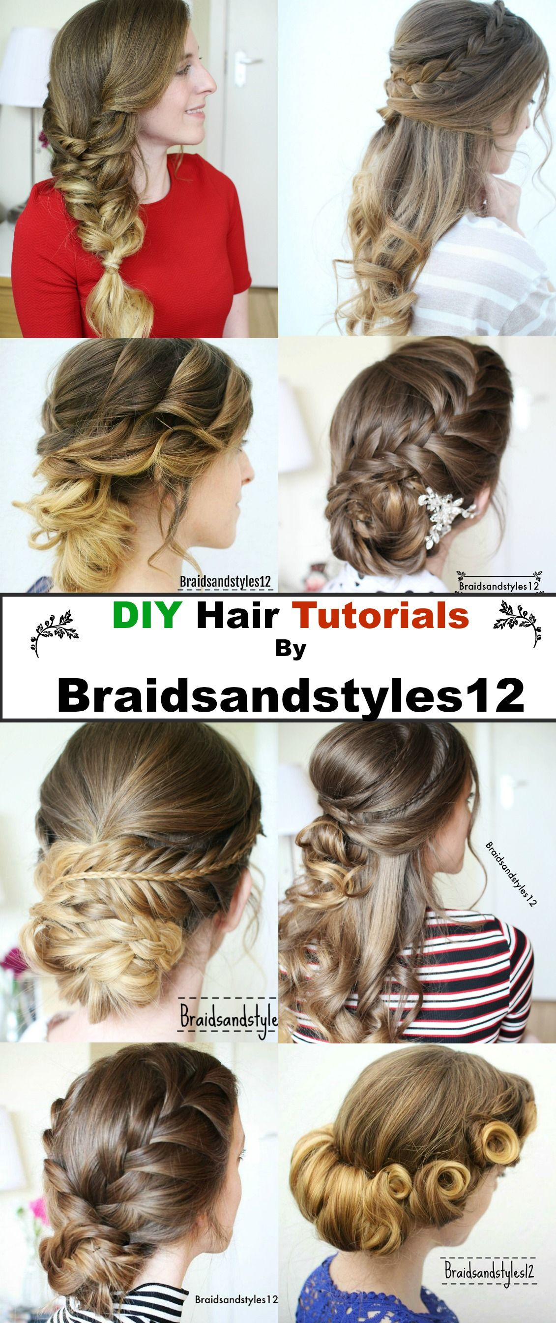 Diy holiday hairstyle ideas christmas hairstyle ideas party