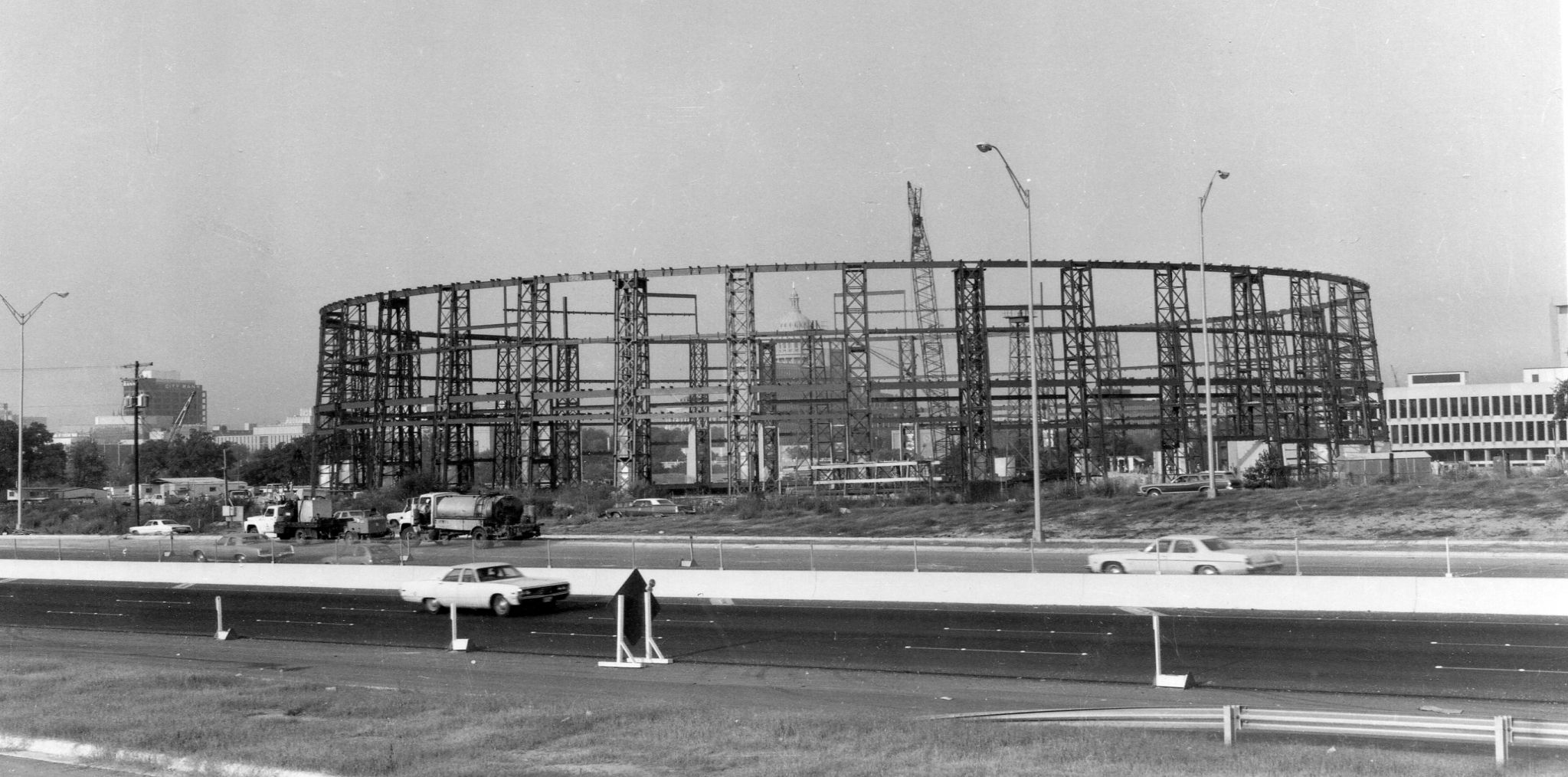 I Took This Photo About 1974 During Construction Of The Ut Special Events Center Now Frank Erwin Center Austin Texas In This Moment Photo