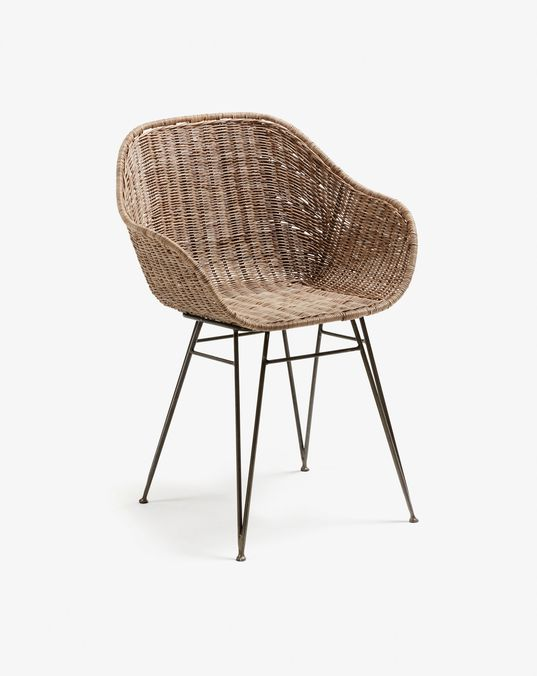 Chart Chair Kave Home Chaise Chaise Accoudoir Chaise Pliante