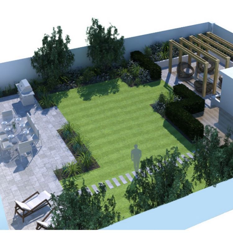 Concept Plans For A Project In West Wittering A Family Garden To