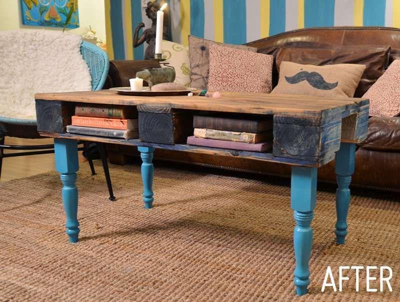 Wie Sie eine Palette in eine Hipster-Tisch für das Wohnzimmer zu - tisch für wohnzimmer