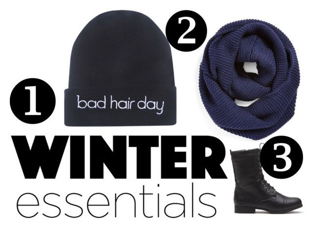 """""""Winter essentials"""" by bennettblueyez ❤ liked on Polyvore featuring Wet Seal, BP. and winteressentials"""