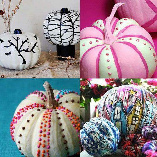 Pin by Jennifer Ritter on Halloween Pinterest - halloween pumpkin painting ideas
