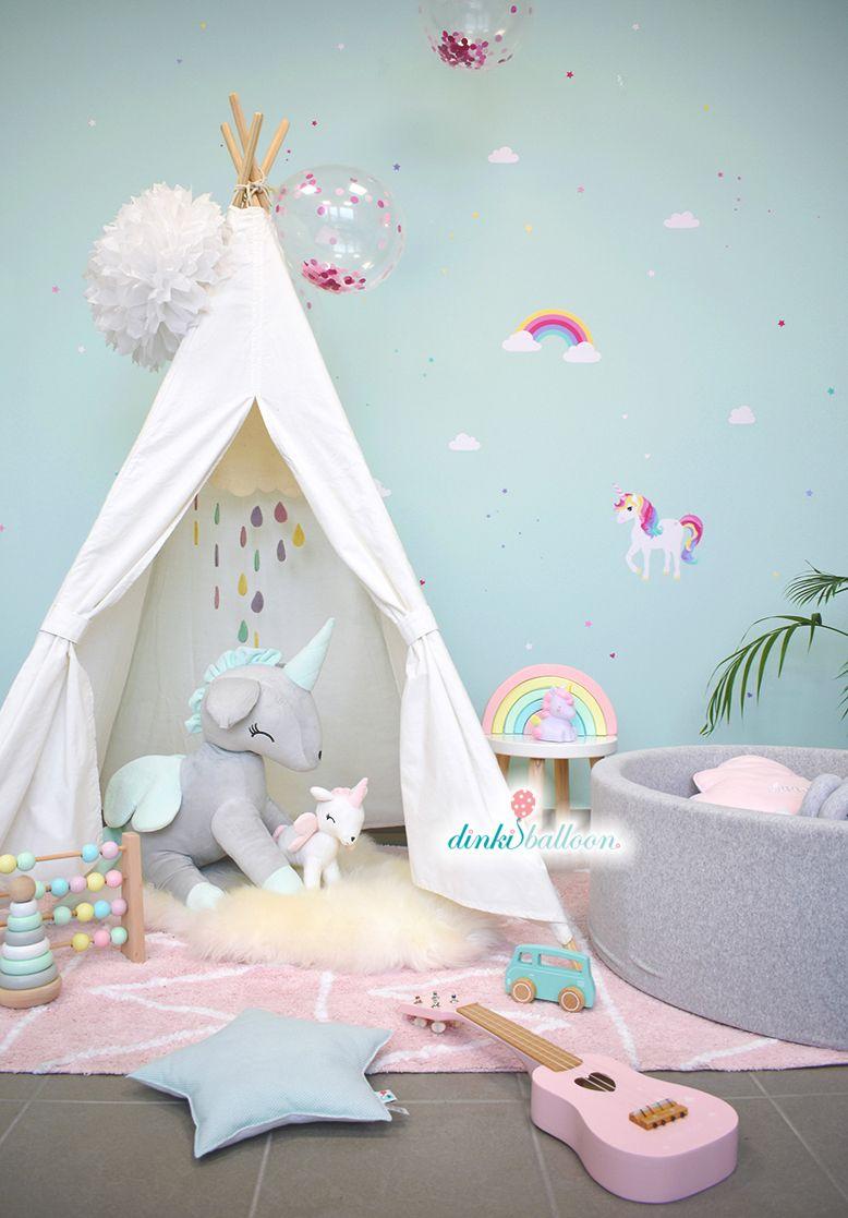 Großartig Mädchenzimmer Wandgestaltung Beste Wahl Das Wandsticker Set Von Dinki Balloon Sorgt