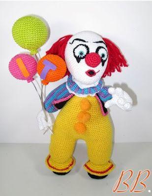 Häkelblog Täglich Neue Anleitungen Penniwise Der Böse Clown