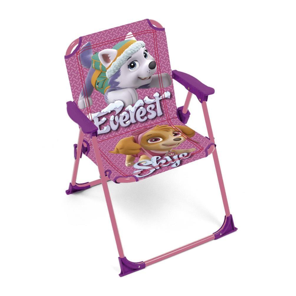 paw patrol skye u0026 everest kids folding chair