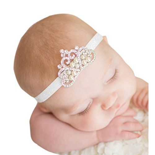 Gillberry Crown hair band Princess Baby Girl Crystal Pear... https    63f43e10a618
