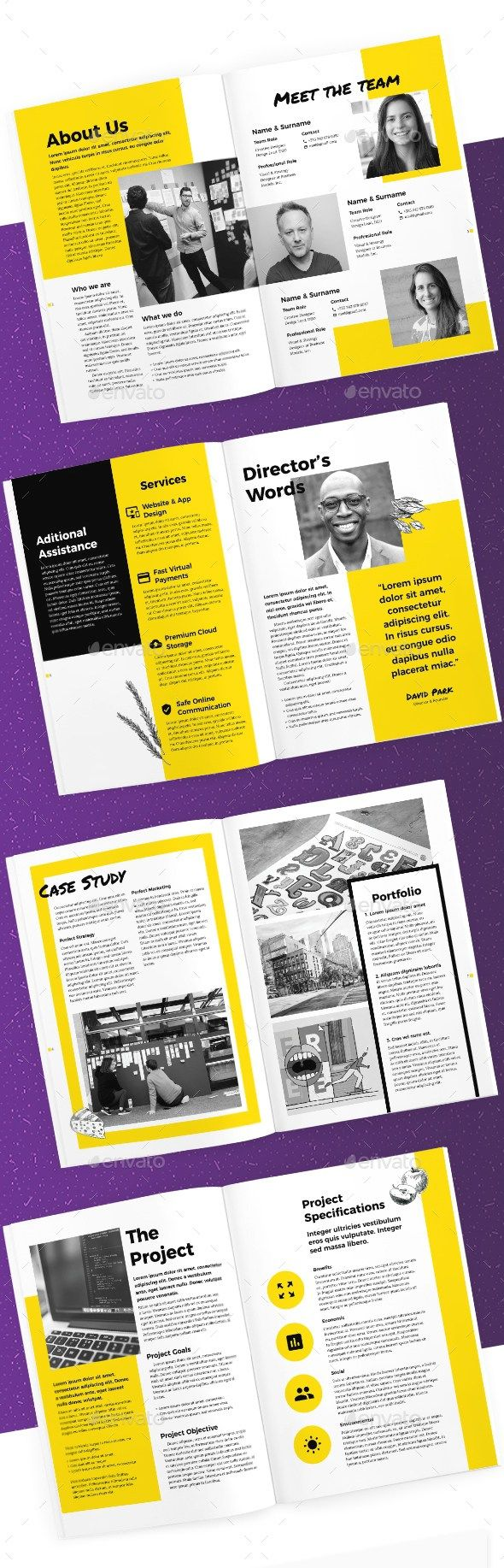 18 pages creative business proposal template indesign proposal 18 pages creative business proposal template indesign proposal brochure template wajeb Images